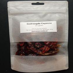 Gedroogde Cayenne / 25 gr