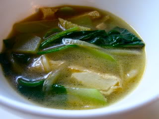 Chili leaves in Tinola